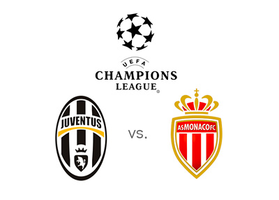 UEFA Champions League Matchup - Juventus vs. AS Monaco - Preview, Odds and Team Logos