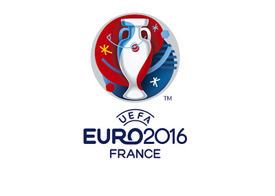 UEFA EURO 2016 - France - Logo - White Background