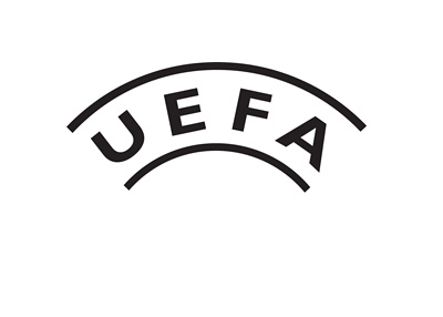 UEFA logo - Black and white version