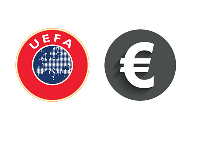 UEFA Prize Money - Illustration / Concept - Logo