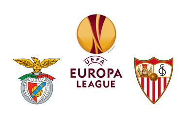 The UEFA Europa League final - Benfica vs. Sevilla - Tournament Logo - Team Badges - Matchup