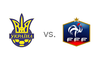 FIFA World Cup Qualifiers - Ukraine vs. France - Matchup - Team Jersey Crests