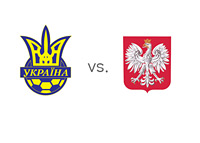 World Cup Qualifiers - Ukraine vs. Poland - Team Crests