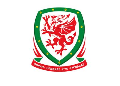 Wales Football Team - Logo / Crest / Badge - Year 2014