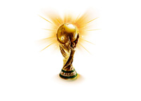 The FIFA World Cup Trophy - Shine - Illustration