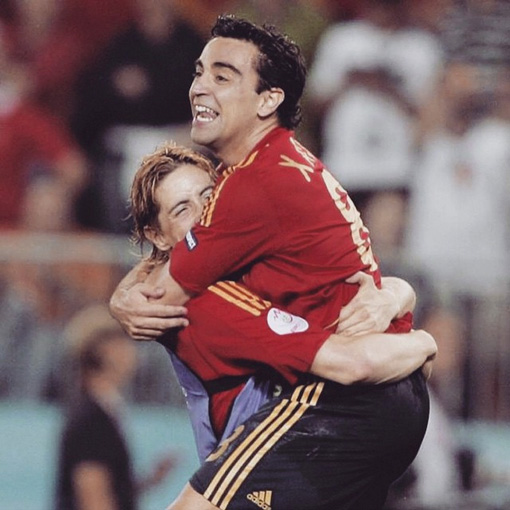 Fernando Torres says adios to Xavi via Instagram