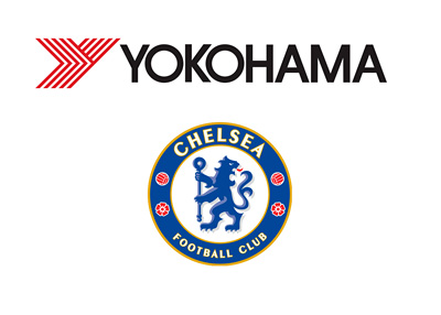 Yokohama Tire Comapny and Chelsea FC logos - Partnership in the making - February 2015
