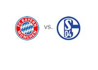 Bayern Munich vs. Schalke 04 - Team Logos - Matchup