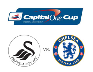 Swansea vs. Chelsea - Capital One Cup - Matchup - Team Logos