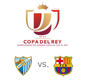 Copa del Rey - Quarterfinal match - 2nd leg - Malaga vs. Barcelona