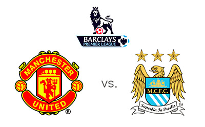 Barclays Premier League - Manchester United vs. Manchester City - Team Logos - Matchup