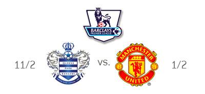 English Premier League - QPR vs. Manchester United - Odds