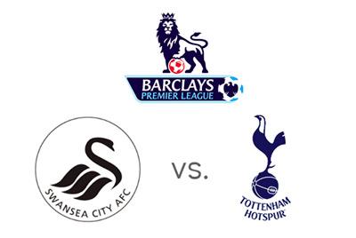 English Premier League - Swansea vs. Tottenham - Matchup and Team Logos