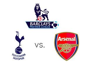 English Premier League - Tottenham vs. Arsenal - Logos - Matchup