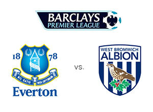 Everton vs. West Brom - Premier League Matchup - League and Team logos