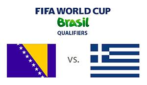 FIFA World Cup Qualifying - Bosnia and Herzegovina vs. Greece