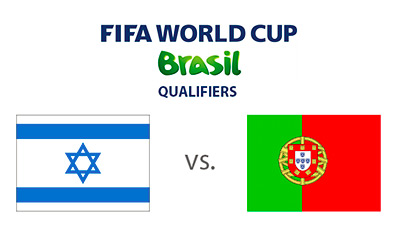 Israel vs. Portugal - FIFA World Cup qualifiers - Matchup and Flags