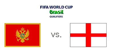 FIFA World Cup Qualifying - Montenegro vs. England