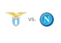 Serie-A Matchup - Lazio vs. Napoli - Team Logos