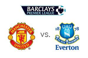 Manchester United vs. Everton - Team Logos - Barclays Premier League