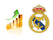 Real Madrid - Financial Growth - Illustration