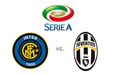 Serie A matchup - Inter vs. Juventus - Team Logos