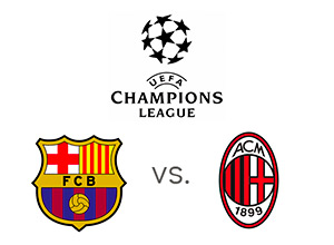 UEFA Champions League - Barcelona vs. AC Milan