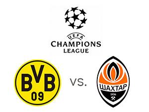 UEFA Champions League Preview - Borussia Dortmund vs. Shakhtar Donetsk - Team Logos