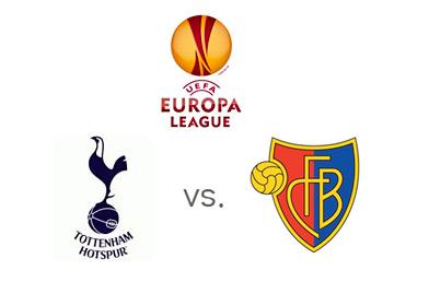 UEFA Europa League - Tottenham vs. FC Bsel - Matchup and Team Logos