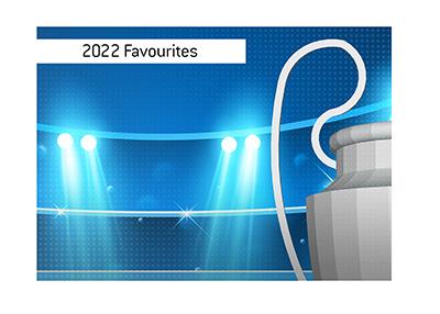 The Big Ears trophy - UEFA Champions League 2022 favourites.  Illustration.