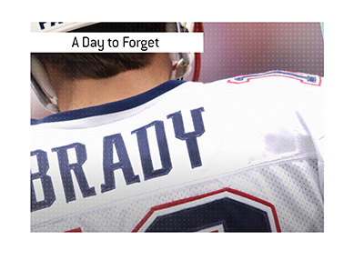 Season opener of 2003 is a day to forget for Tom Brady.