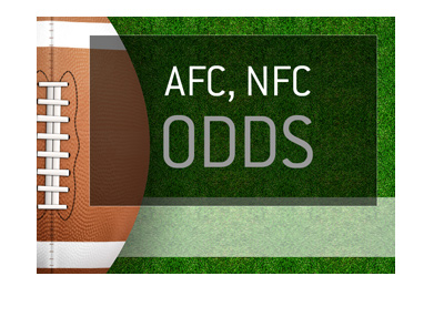 American Football Odds - AFC, NFC - Image representation.