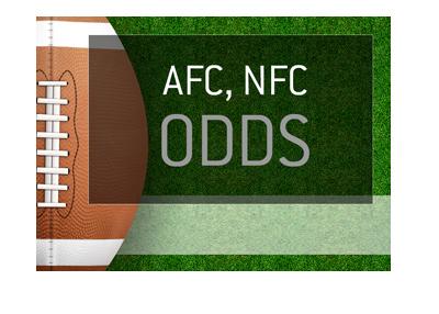 American Football Odds - AFC, NFC - Image representation.