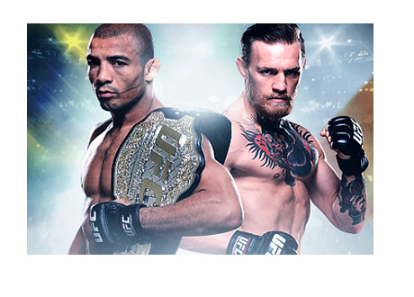 Jose Aldo vs. Conor McGregor - Fan Poster - UFC - Mixed Martial Arts - Unofficial