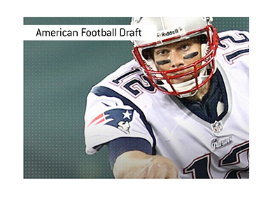 The NFL legend Tom Brady was picked in the 6th round of the draft.