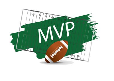The American Football MVP - Concept drawing - Illustration.