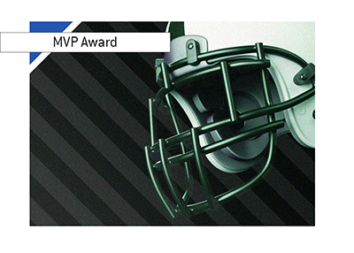 American football - NFL - MVP awards - Odds to win - Illustration.