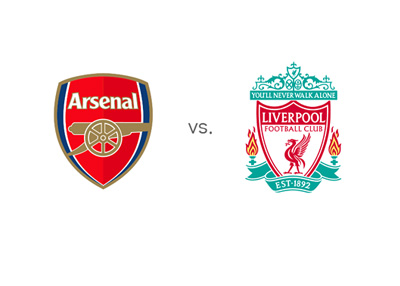 Arsenal vs. Liverpool - Matchup and game odds - Team logos