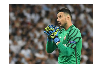 AS Monaco goalkeeper - Danijel Subasic - Croatian international.