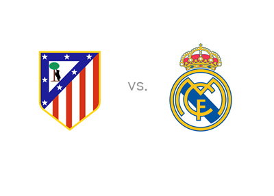 Atletico Madrid vs. Real Madrid - matchup, crests, preview