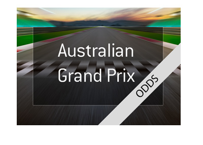 Odds for the upcoming Australian Grand Prix 2018 - Formula One - Bet on it!