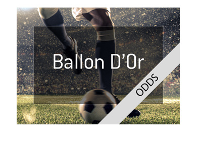 The odds for the Ballon Dor 2018 award. The favourite to win?  Lionel Messi, of course.