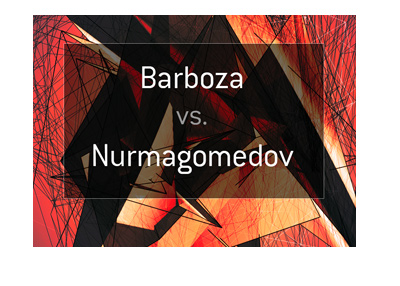 MMA fight odds - Edson Barboza vs. Khabib Nurmagomedov. Who is the favourite to win?