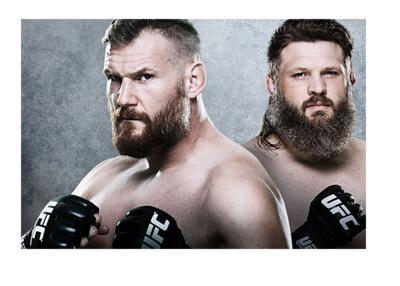 Josh Barnett vs. Roy Nelson - UFC fight poster - September 2015
