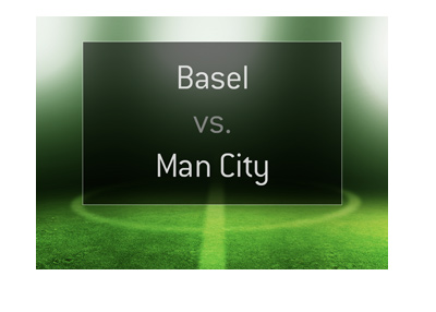 UEFA Champions League match between Basel FC and Manchester City FC.  Who is the favourite to win?