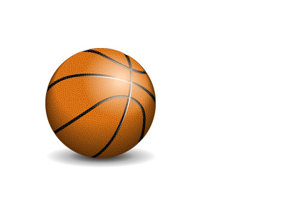 Basketball illustration - Realistic look