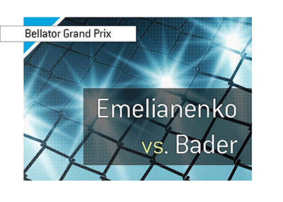Bellator - Heavyweight World Grand Prix tournament final is featuring Fedor Emelianenko and Ryan Bader.  Bet on it!