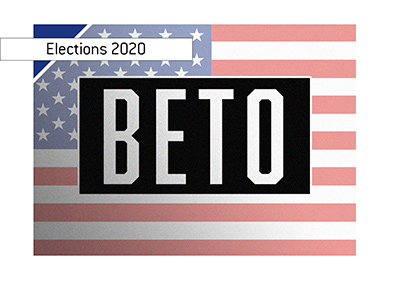 Beto O Rourke is one of the potential Democratic candidates for the 2020 elections in the United States.