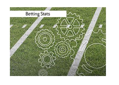 American football preseason betting stats.  Year is 2021.