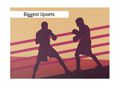 Biggest upsets in boxing history.  Who was the biggest winning underdog?